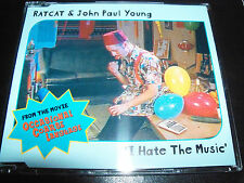 Ratcat & John Paul Young I Hate The Music Rare Australian 5 Track CD Single EP