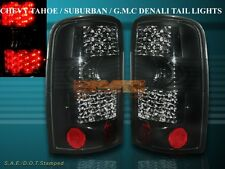 2000-2006 YUKON SUBURBAN TAHOE DARK SMOKE LED L.E.D TAIL LIGHTS PAIR