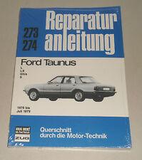 Reparaturanleitung Ford Taunus TC76, Baujahre 1976 - 1979