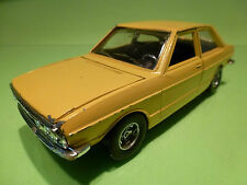 MARTOYS 0105 AUDI 80 GT  - YELLOW 1:24 - RARE SELTEN - GOOD CONDITION