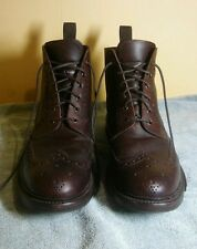 Loake Men's Bedale Boots - Mahogany Size 10.5 G