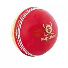 Readers Cricket Ball Supaball All Red Training Balls with Stitched Seam