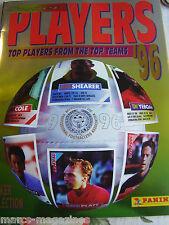 Rare panini top joueurs de football 1996 96 vignette album livre vide inutilisé