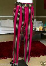 1993 vintage VERSUS by GIANNI VERSACE virgin wool striped men's pants sz ITA 48
