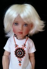 Monique Roxie Wig 6/7 for BJD Little Fee Miniofee Ellowyne BID KID YoSD White