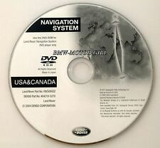 2005 2006 Land Rover Range Rover / Sport / HSE Supercharged Navigation DVD Map