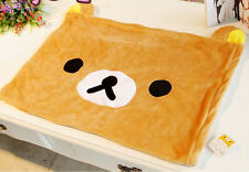 Rilakkuma san-X Brown bear fuzzy single pillowcase pillow case YT343 NEW