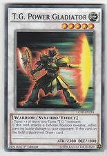 YU-GI-OH T.G. Power Gladiator Common englisch LC5D-EN214 T.G. Kraftgladiator