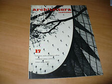 A ARCHITETTURA CANTIERE N.17 1958 GAGARIN HOUSE STARKEY HOUSE DULUTH EXPO 58