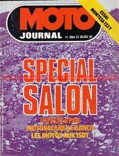 MOTO JOURNAL  284 Montesa Cota 123 T ; Tour de CORSE ; Spécial Salon 1976