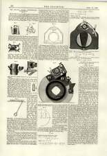 1889 Crystal Palace Photography Exhibition Useful Portables Shutter Mathematics