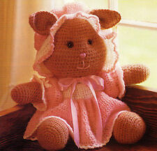 ADORABLE Claudia Cottontail Easter Bunny/Toy/ Crochet Pattern INSTRUCTIONS ONLY