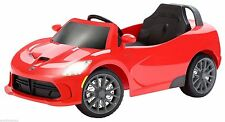 New Sealed Kid Trax Dodge Viper SRT 6V Ride On Red KT1114TG