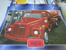 Super Trucks Hauben Zugmaschinen Schweden Scania L 80, 1969