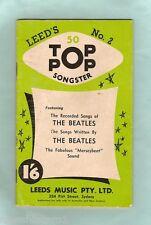 #D115, EARLY 1960s LEEDSTOP POP SONGSTER #2. BEATLES etc