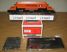 LIONEL 6-37042 ILLINOIS CENTRAL IC OPERATING COAL DUMP CAR TOY TRAIN O GAUGE BIN