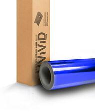 Blue Chrome Vinyl Car Wrap Film Air Release BCR7M01 5ftx25ft Ext Int