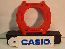 Casio Watch Parts GX-56 & GXW-56 Red Back Plate Cover. Original Casio Case Part