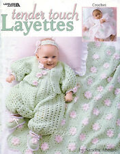 Tender Touch Layettes Sets crochet patterns OOP