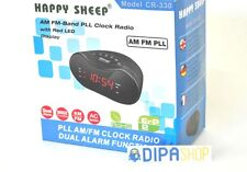RadioSveglia CR-330 Radio AM FM Sveglia Digitale Display Allarme Snooze hsb