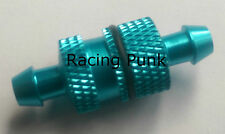 RC Nitro Car Buggy Fuel Filter 1/8 1/10 fits 5mm Fuel Line Pipe Alloy BLUE SH