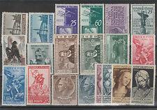 FRANCOBOLLI 1954 REPUBBLICA ANNATA MNH Z/2960