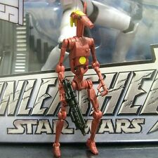 STAR WARS legacy BATTLE DROID COMMANDER saga