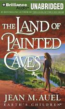 THE LAND OF THE PAINTED CAVES unabridged audio book on MP3 CD by JEAN M. AUEL