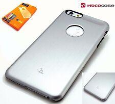 HOCO BLACK SERIES ALUMINIUM HARD BACK CASE - APPLE IPHONE 6S PLUS 6 PLUS  SILVER