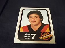 1983-84 Vancouver Canucks Team Issue #7 Gary Lupul