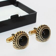 STYLISH DESIGNER CUFFLINKS WITH BOX (MBA-5)