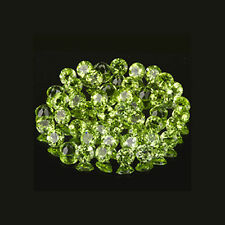 3mm Matched Lot 50pc Round Cut Accent Stone Natural Green PERIDOT