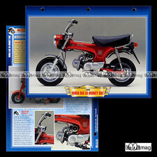#034.06 Fiche Moto Cyclo HONDA DAX (MONKEY BIKE) 1967-1999 Motorcycle Card