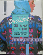 DESIGNER KNITWEAR COLLECTION 36 EXCLUSIVE PATTERNS FOR HANDKNITTING