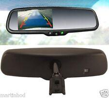 "3.5"" Rear View Mirror w/ Camera Display & Parking Lines - Echomaster VM-35R-L"