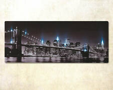 LED New York Canvas Landscape Picture Photography Bedroom Decor Lights