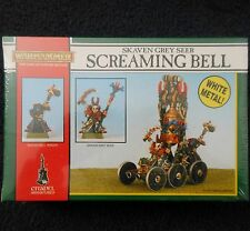 1992 Skaven Screaming Bell Chaos Ratmen Citadel Warhammer Army Grey Seer MIB GW