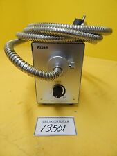 Nikon PSM-11520 Optical Fiber Light Source with Cable Used Working