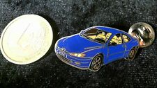 Peugeot Pin Badge 406 blau Auto