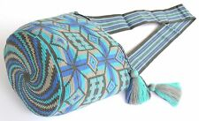 AUTHENTIC MOCHILA WAYUU / LARGE SIZE / FINEST QUALITY / HANDMADE CROSS BODY BAG