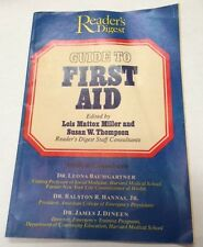 1974 Reader's Digest Guide to First Aid