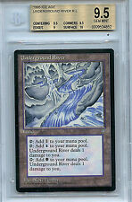 MTG Ice Age Underground River BGS 9.5 Gem Mint Magic Card WOTC 4852