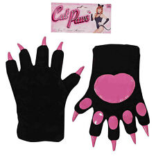 Sexy Black Cat Paws Cute Kitty Adult Women's Halloween Costume Accessory 68309