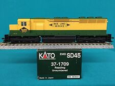 37-1709 Kato HO Scale SD45 Engine Reading NIB