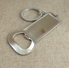 2 pcs Bottle opener key ring resin cameo base rectangular setting