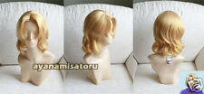 APH Hetalia Axis powers France Anime Cosplay Costume Wig  +CAP+TRACK number