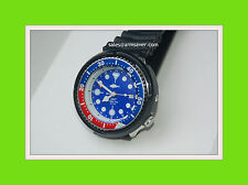 seiko 7002 DURABLE PLASTIC clip-on Black shroud tuna  3 screws  +++READ BELOW