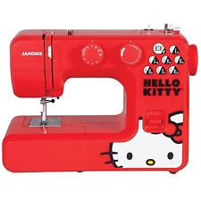 Janome 13512 Hello Kitty Easy-to-Use Sewing Machine with Aluminum Interior Frame
