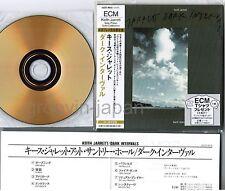 KEITH JARRETT Dark Intervals JAPAN Mini-LP CD 24k GOLD w/OBI+INSERT UCCE-9018 NM