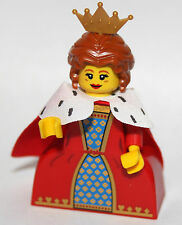 Lego QUEEN from SERIES 15 minifigures genuine lego knight 2 capes